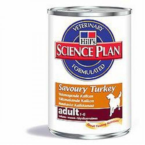 Hill´s Pet Nutrition Hills Canine konz. Adult Turkey 370g cena od 0,00 €
