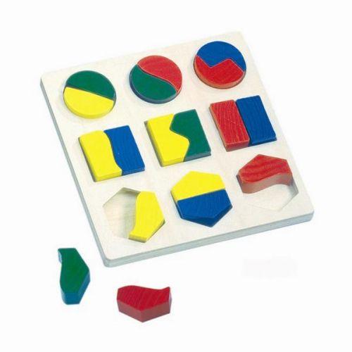 Puzzle Bino geometrické tvary