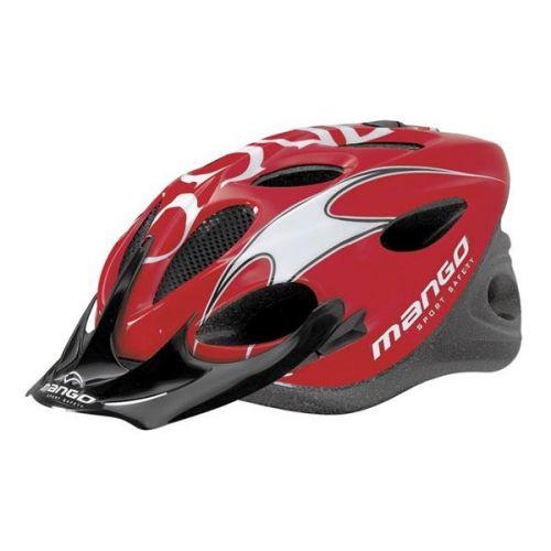 Mango Cyklistická helma HERO, vel. L/XL 56-61 cm - červená..