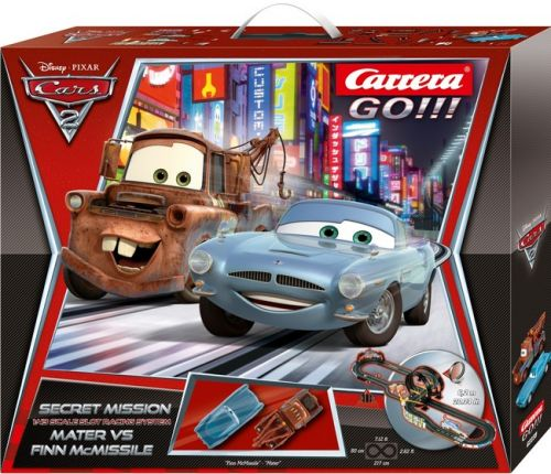 Autodráha Carrera GO 62239 Disney Cars 2 - Secret Mission cena od 0,00 €
