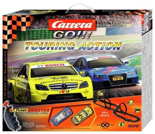 Autodráha Carrera GO 62242 Touring Action cena od 0,00 €