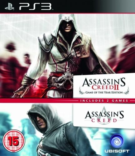 UBI SOFT Assassins Creed&Assassins Creed2pack pro PS3