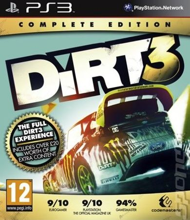 Codemasters Dirt 3 Complete Edition pro PS3