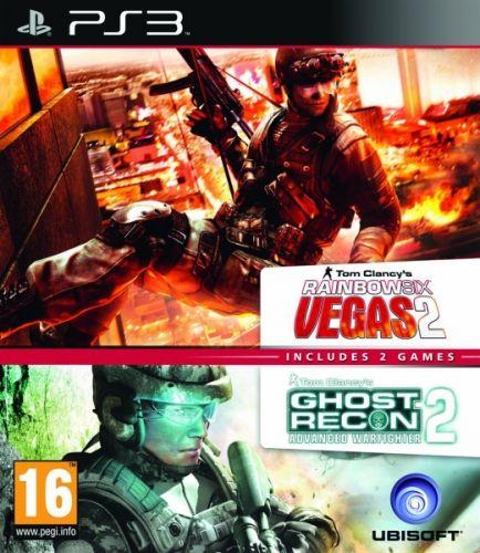 Hry PS3 GR Advance WarfighteraRainbow 6 Vegas2 pack (USP32121)
