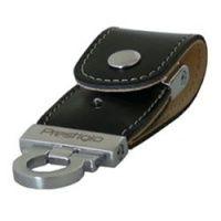 4 GB USB kľúč . Prestigio Black Map Leather,čierna koža, priesvitná krabička PLDF4096MAPBLACKT3 cena od 0,00 €