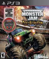 ACTIVISION Nintendo Wii - Monster Jam: Path of Destruction Wheel Bundle