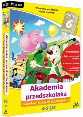 . Dzieciak na 6: Akademia przedszkolaka 4-5 lat (PC) Avalon cena od 0,00 €