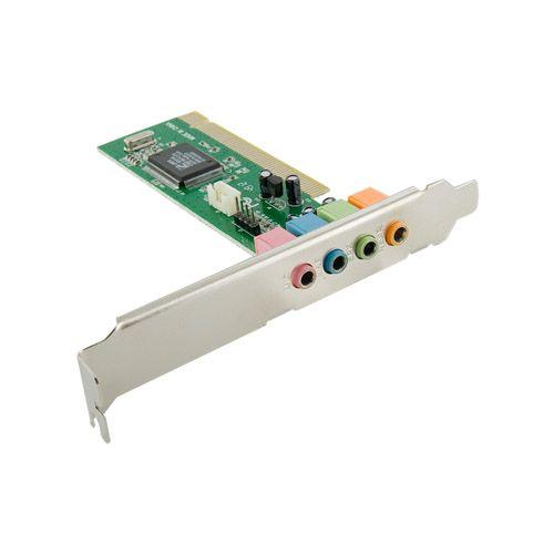 4World Zvuková karta C-Media CMI8738, 4-kanál, s PCI rozhraním, box cena od 0,00 €