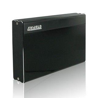 4World Obudowa USB 2.0 na dysk HDD 3.5'' SATA, aluminiowa, czarno-grafitowa cena od 0,00 €