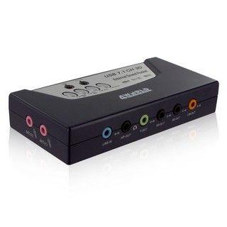 4World Externí 8-kanálová zvuková karta 7.1 USB 2.0 s optickým výstupem SPDIF cena od 0,00 €