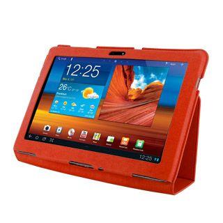 4World Etui z nożką dla Galaxy Tab 10.1, SLIM, czerwone cena od 0,00 €