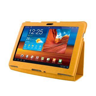4World Etui z nożką dla Galaxy Tab 10.1, SLIM, pomarańczowe cena od 0,00 €