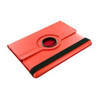 4World Etui z nożką dla iPad 2, obracane, czerwone cena od 0,00 €