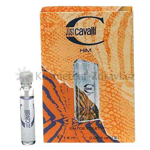 Roberto Cavalli Just Him toaletná voda 1,6ml Vzorka pre mužov