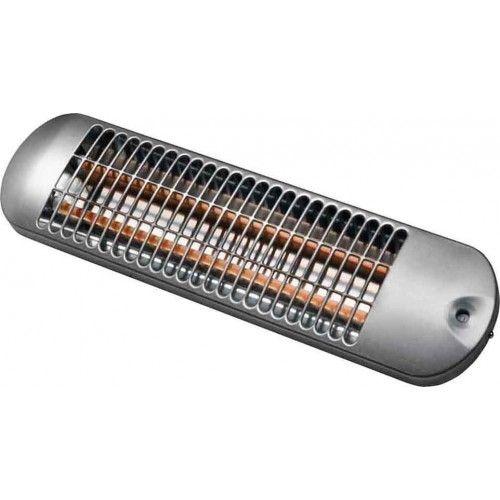 Infražiarič Ako BS1201, strieborný