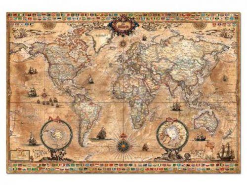 Alltoys CZ+ Puzzle Mapa sveta Antique 1000 dielikov
