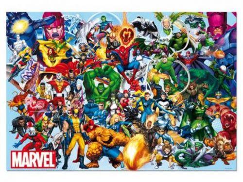 Alltoys CZ+ Puzzle Hrdinovia Marvel 1000 dielikov