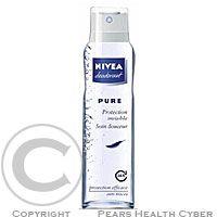 Nivea Pure Invisible sprej 150ml cena od 2,40 €