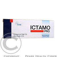 Elmed Ictamo je vysoko účinného pasta, ktorá bola špeciálne vyvinutá na ošetrenie ťažko zvládnuteľných ložísk kůže