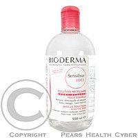 Bioderma Sensibio H2O pleťová voda je čistiaca pleťová voda pre citlivú pokožku.Micelární roztok na každodenné čistenie nadmerne reaktívnej jemné, krehké a veľmi citlivej pleti, ideálny aj pre odličovanie. Má fyziologické pH. Neobsahuje parfum a má vysoký