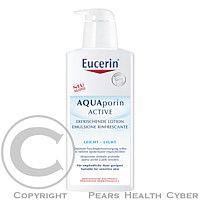 Eucerin ělové mléko AQUAporin ACTIVE - výživná textura 400ml