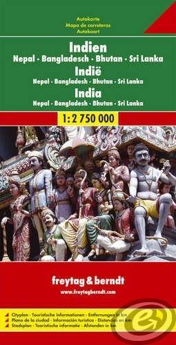 Freytag & Berndt India · Nepál · Bangladéš · Srí Lanka · Maledivy - AK 110