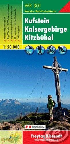 Freytag & Berndt Kufstein · Kaisergebirge · Kitzbühel - WK 301