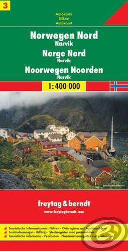Freytag & Berndt Nórsko 3 sever · Narvik - AK 0657