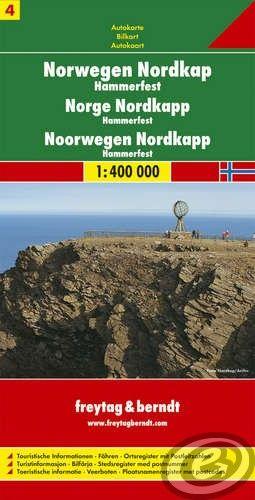 Freytag & Berndt Nórsko 4 sever Nordkap · Hammerfest - AK 0658