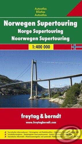 Freytag & Berndt Nórsko · Supertouring Autoatlas - NTOUR SP