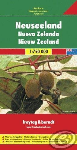 Freytag & Berndt Nový Zéland - AK 167