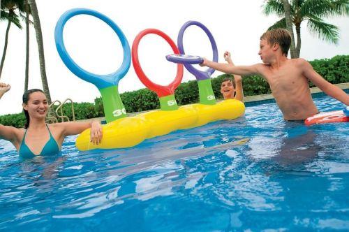 Intex Nafukovacia zábavná hra do vody - prehadzovanie