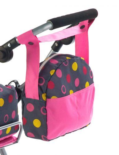 Bayer Chic Přebalovací taška - Funny pink