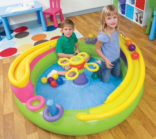 Intex Nafukovací hrací centrum s míčky