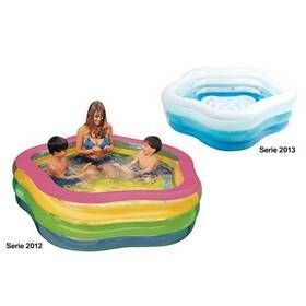 Intex Bazén kvietok 185x180x53cm