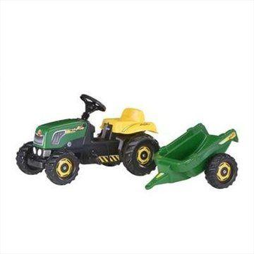 Rolly Toys Šliapací traktor Rolly Kid s vlečkou sv. zelený cena od 0,00 €