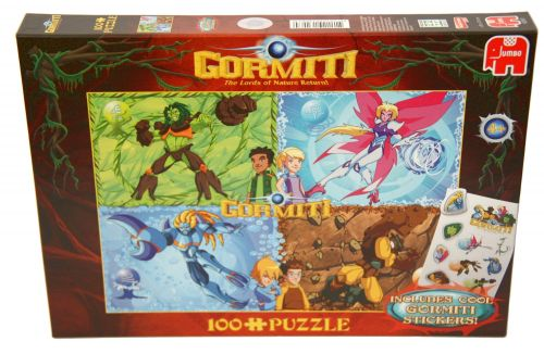 Clementoni Puzzle Gormiti, 100 dielikov