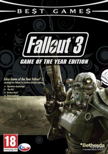 CENEGA NBG Fallout 3: Game of The Year cena od 0,00 €