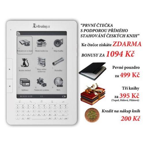 Čítačka kníh eReading.cz First Edition EB6000