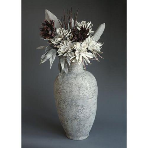 HD Home Design Váza keramika s umělými květinami (A01130 A)..