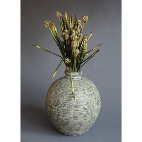 HD Home Design Váza keramika s umělými květinami (A01230 A)..