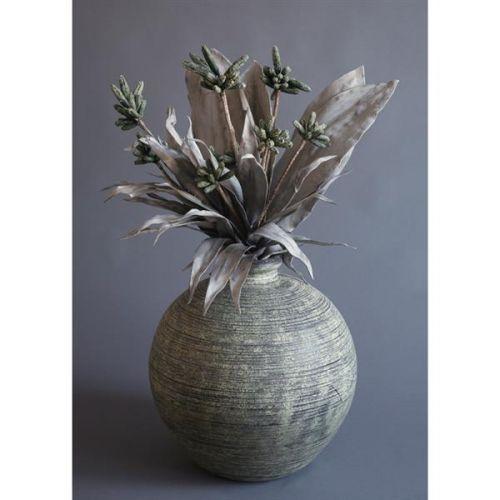 HD Home Design Váza keramika s umělými květinami (A01240 A)..
