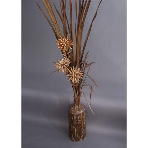 HD Home Design Váza keramika s umělými květinami (A01290 A)..