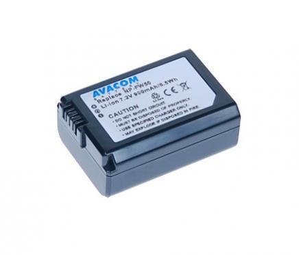 Avacom Akumulátor Sony NP-FW50 Li-ion 7.2V 900mAh 6.5Wh verze 2012 cena od 0,00 €