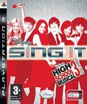 Disney High School Musical 3 Sing It pro PS3