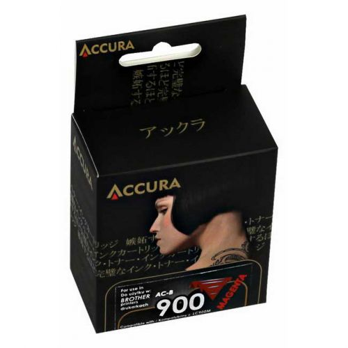Accura alternatívny atrament Brother LC900 magenta, 14ml, 100 % NEW cena od 3,79 €
