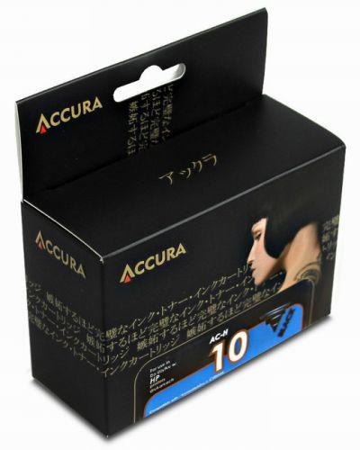 Accura alternativní inkoust HP No.10 (C4844A) black, 69 ml 100 % NEW cena od 0,00 €