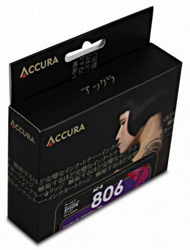 Accura alternativní inkoust Epson T0806, 11,7 ml, light magenta 100 % NEW cena od 0,00 €
