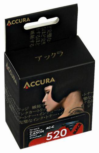 Accura alternativní inkoust Canon PGI520B chip black 100 % NEW cena od 0,00 €