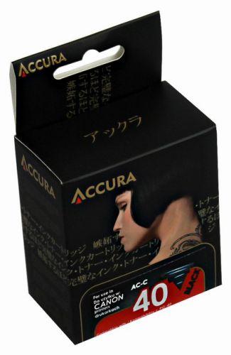 Accura alternativní inkoust Canon PG-40 21 ml, black - regenerovaný cena od 14,90 €